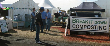 Break It Down Composting and Growing Solutions at AgQuip 2009.