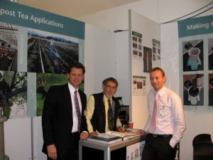 Michael Alms, Urs Hildebrandt and Jitze Peenstra at the 2009 Horti Fair.