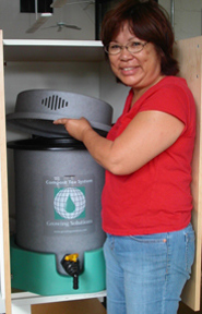 Sharon Tamanaha and a Growing Solutions Compost Tea System10