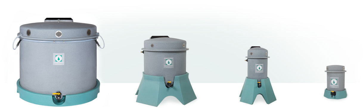 Compost tea systems, brewers, machines